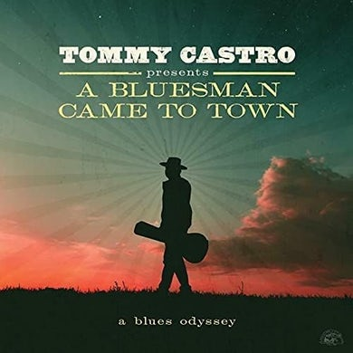 PRESENTS A BLUESMAN CAME TO TOWN Vinyl Record