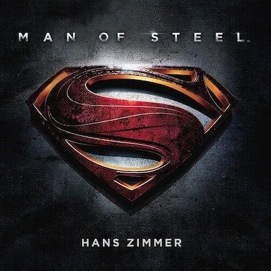 Hans Zimmer MAN OF STEEL Original Soundtrack (2LP/180G/BLUE VINYL) Vinyl Record