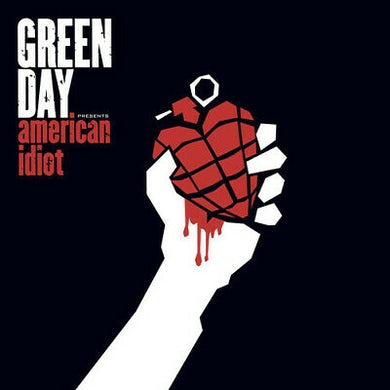 Green Day AMERICAN IDIOT (W/POSTER) Vinyl Record