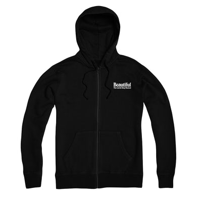 Beautiful Unisex Zip Up Hoodie