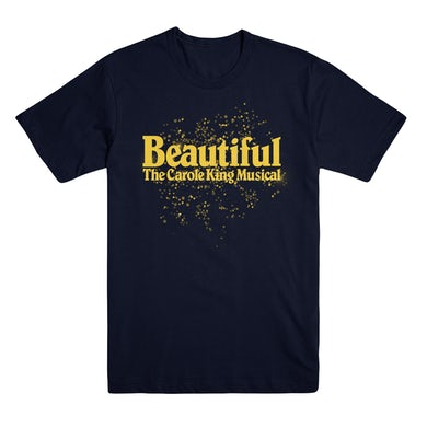 Beautiful Logo Tee with Song Back