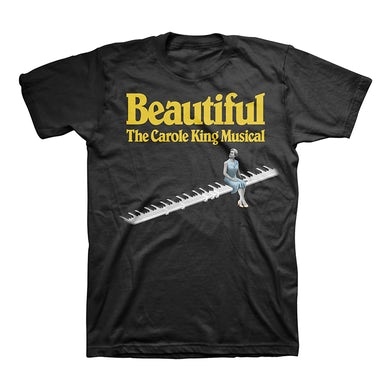 Beautiful Piano Logo Tee