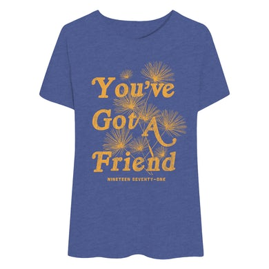 Beautiful You've Got A Friend Flowy Tee