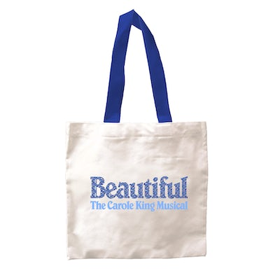Beautiful Blue Logo Tote