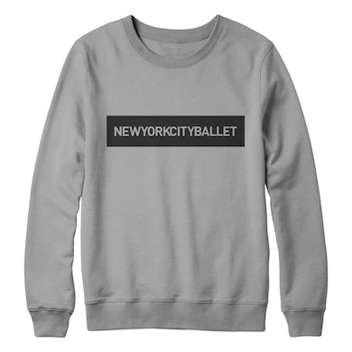 NYC Ballet Logo Knockout Pullover
