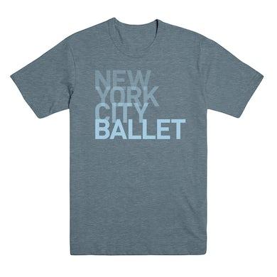 NYC Ballet Unisex Ombre Logo Tee