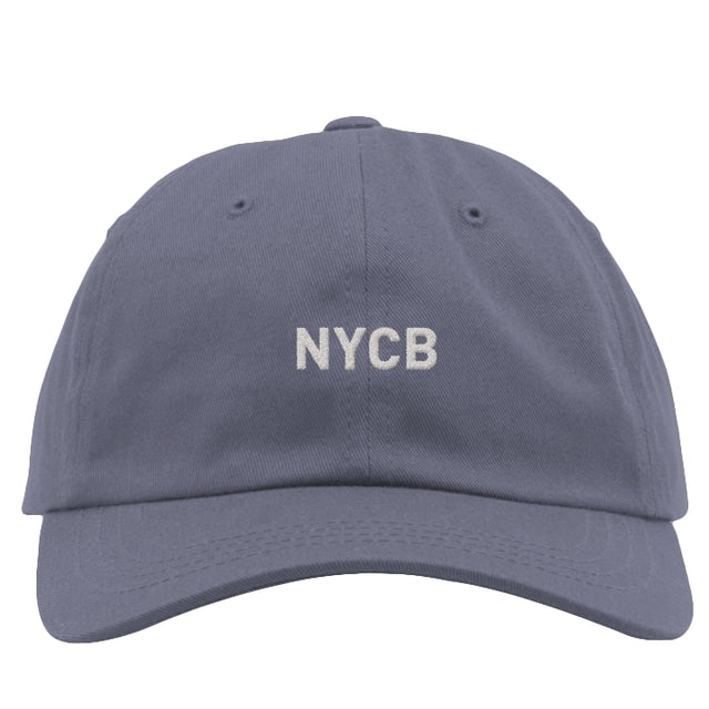 NYC Ballet Blueberry Logo Hat