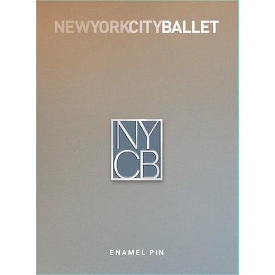 NYC Ballet Block Art Enamel Pin