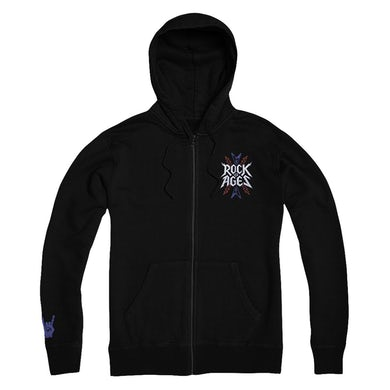 Rock Of Ages Logo Zip Up