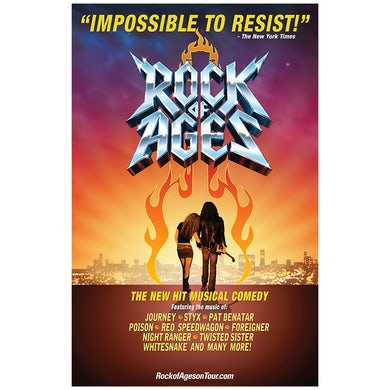 Rock Of Ages ROA Roll Up Poster