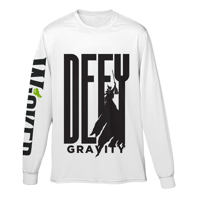 Wicked Unisex Defy Gravity White Long Sleeve