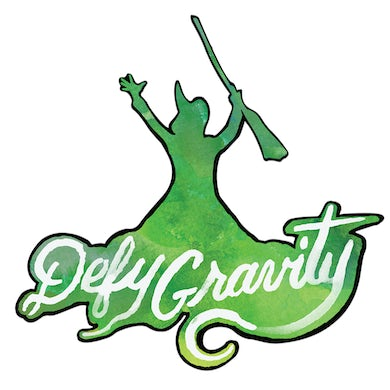 Wicked Defy Gravity Acrylic Magnet