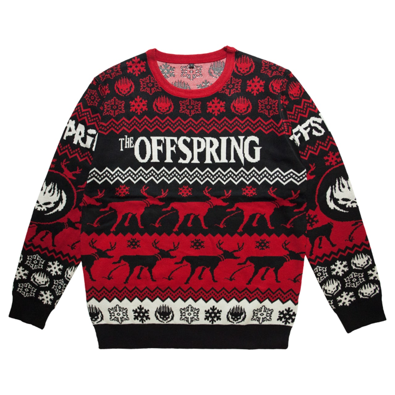 Black Sabbath Christmas Sweater.The Offspring Ugly Christmas Sweater