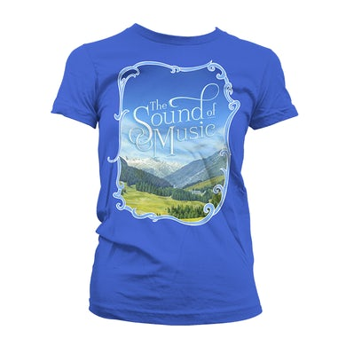 SOUND OF MUSIC Women's Framed Hills Tee