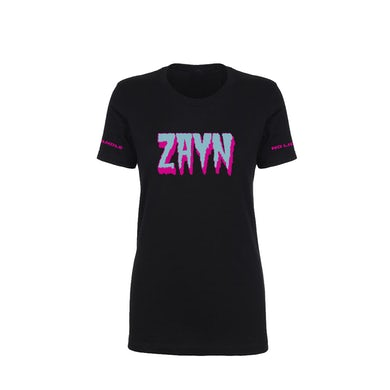 Zayn Alien Blue Black Ladies Tee
