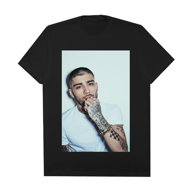 Zayn White Drop 2 Photo Tee