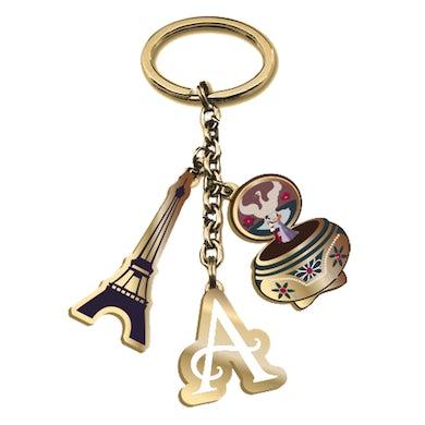 Anastasia Charm Keychain