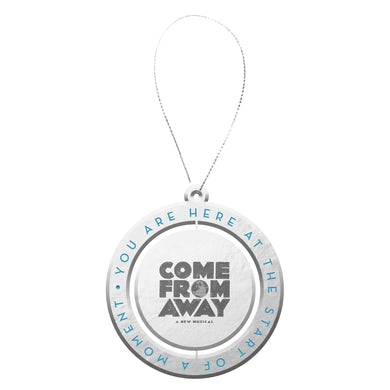Come From Away Globe Spinner Ornament