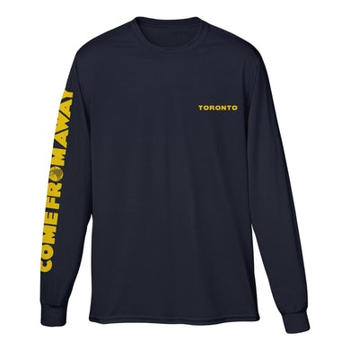 Come From Away Toronto Long Sleeve Logo Tee