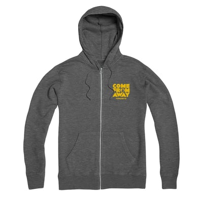 Come From Away Toronto Zip-Up Logo Hoodie