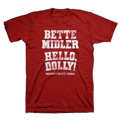 Hello Dolly Bette Midler Logo Tee