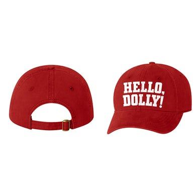 Hello Dolly Red Logo hat