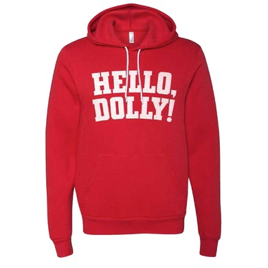 Hello Dolly Logo Pullover Hoodie