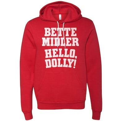 Hello Dolly Bette Midler Logo Hoodie