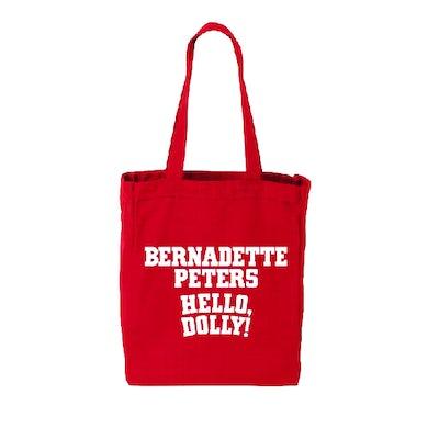 Hello Dolly Bernadette Peters Logo Tote