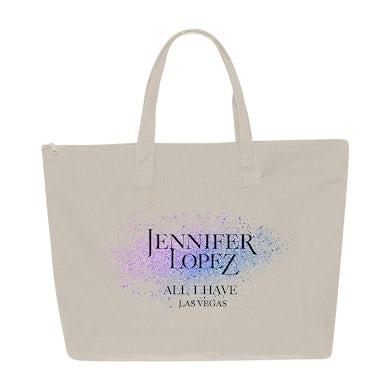 Jennifer Lopez All I Have Glitter Tote Bag