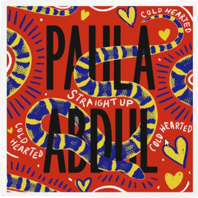 Paula Abdul Straight Up Bandana