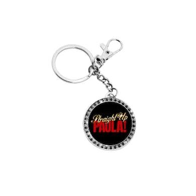 Paula Abdul Straight Up Glitter Keychain