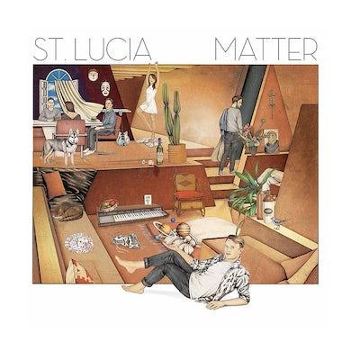 St. Lucia Matter Lithograph