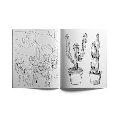 St. Lucia Adult Coloring Book