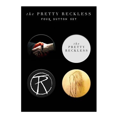 The Pretty Reckless Button pack