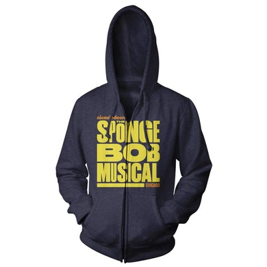 Spongebob Squarepants The New Musical Chicago Logo Hoodie