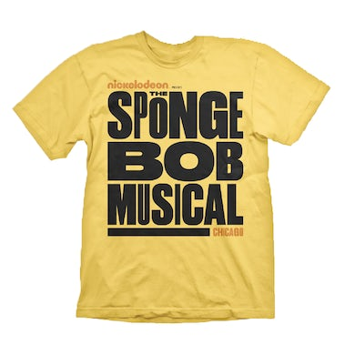 Spongebob Squarepants The New Musical Youth Chicago Logo Tee