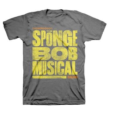 Spongebob Squarepants The New Musical Chicago Logo Tee