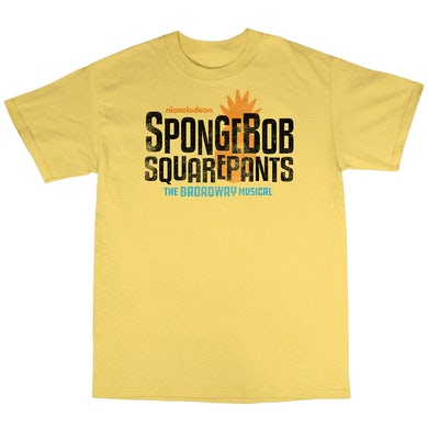 Spongebob Squarepants The New Musical Youth Unisex Logo Tee