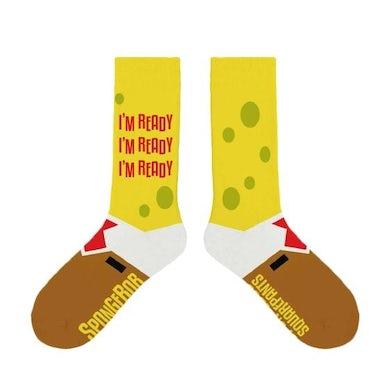 Spongebob Squarepants The New Musical I'm Ready Socks