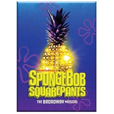 Spongebob Squarepants The New Musical Pineapple Logo Magnet