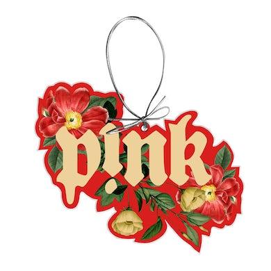 Pink Floral Ornament