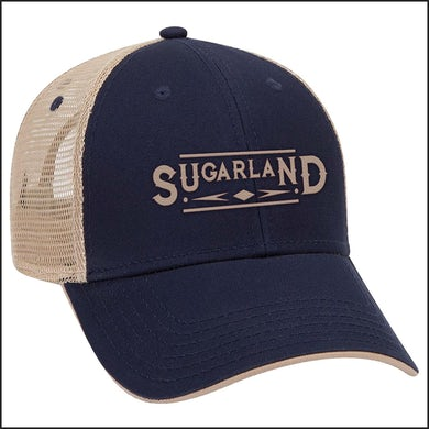 Sugarland Navy Trucker Hat