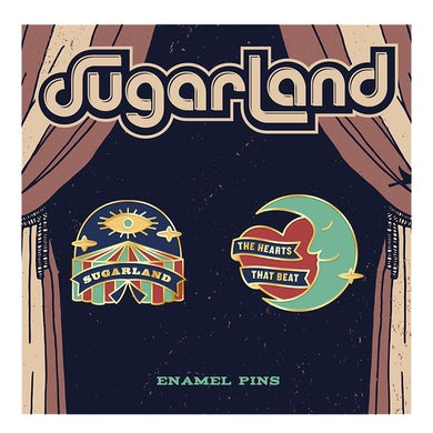Sugarland Enamel Pin Set