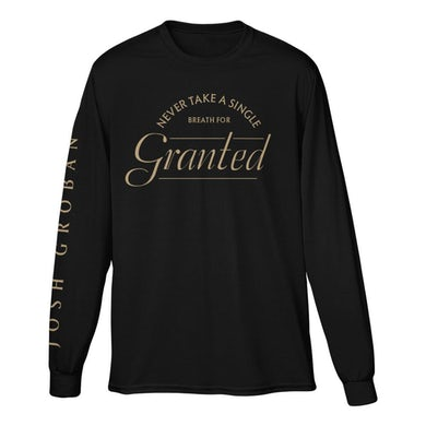 Josh Groban Granted Long Sleeve Tee