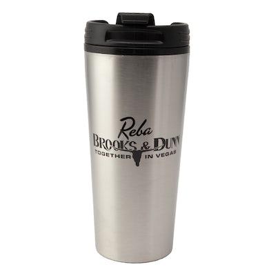 Brooks & Dunn Vegas Travel Mug