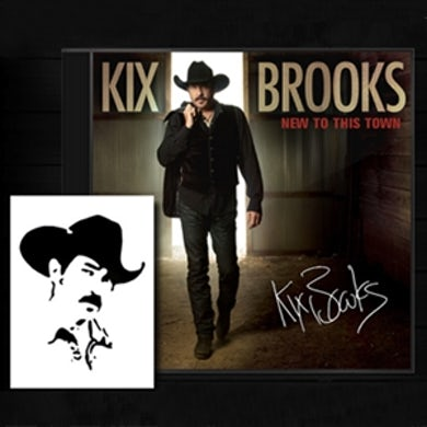 Kix Brooks Autographed Edition CD