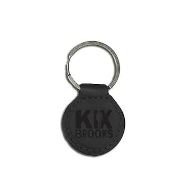 Kix Brooks Leather Keychain