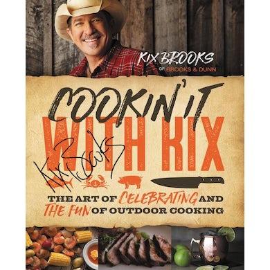 Kix Brooks KB Autographed Cookbook