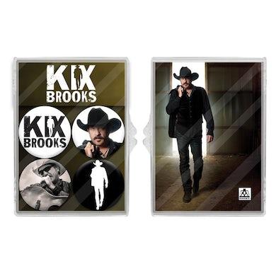 Kix Brooks 4-Piece Magnet Set
